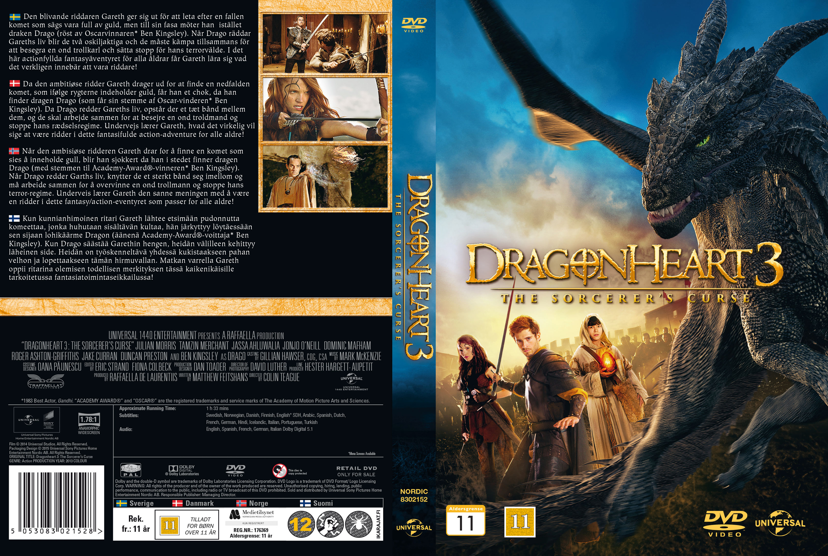 Dragonheart 3 (cover)