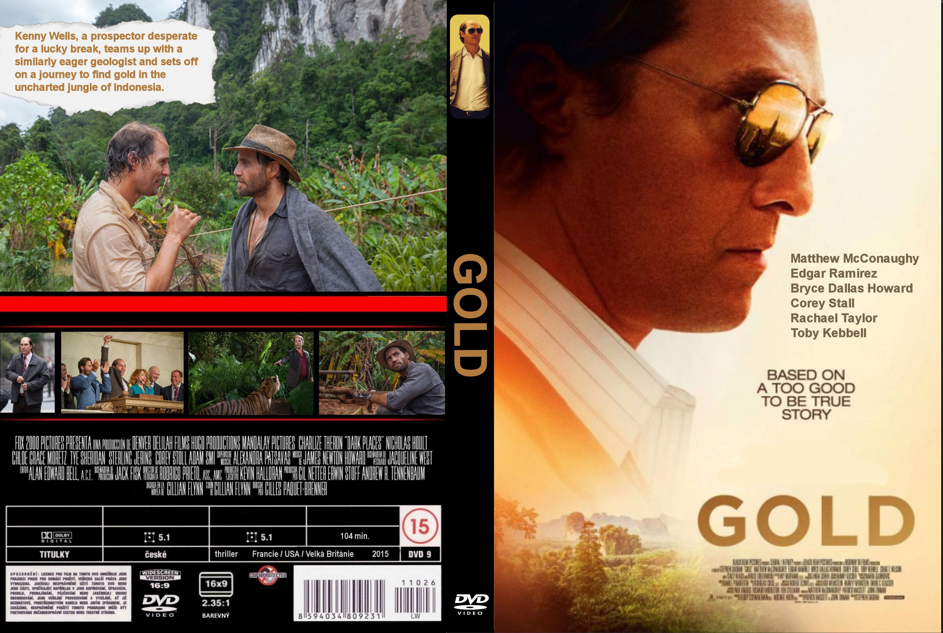Gold (2016) cover front