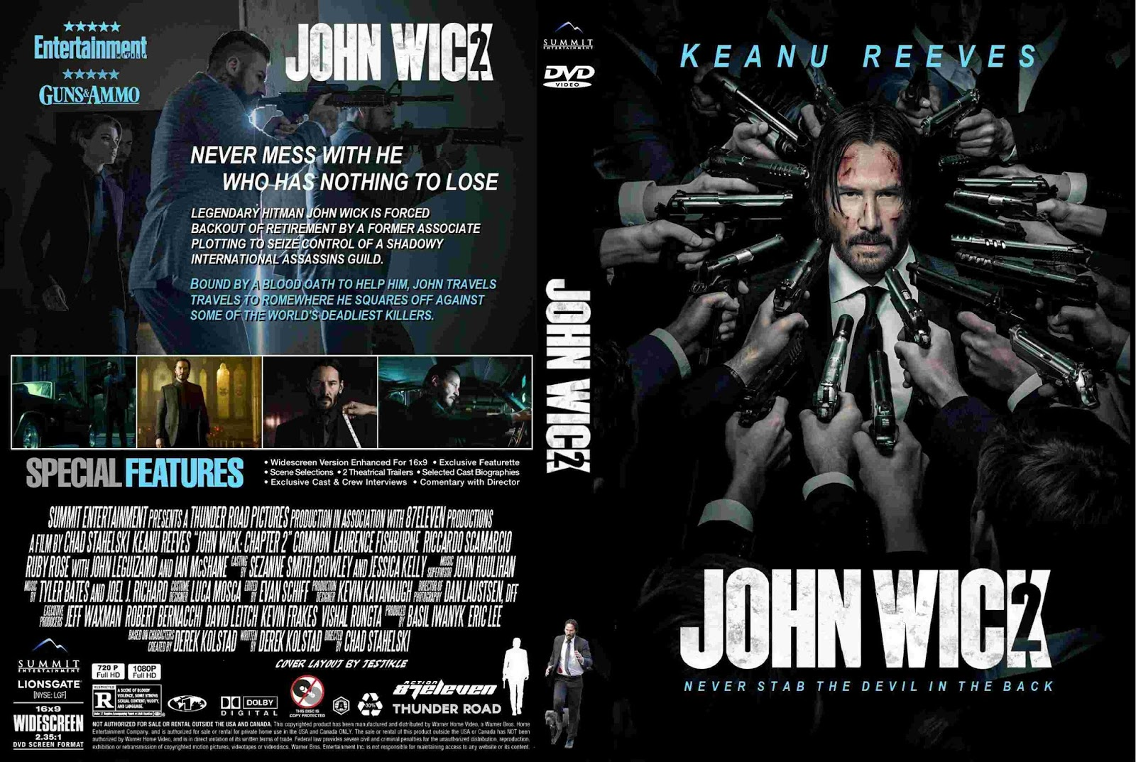 John Wick Chapter 2 (2017) Cover