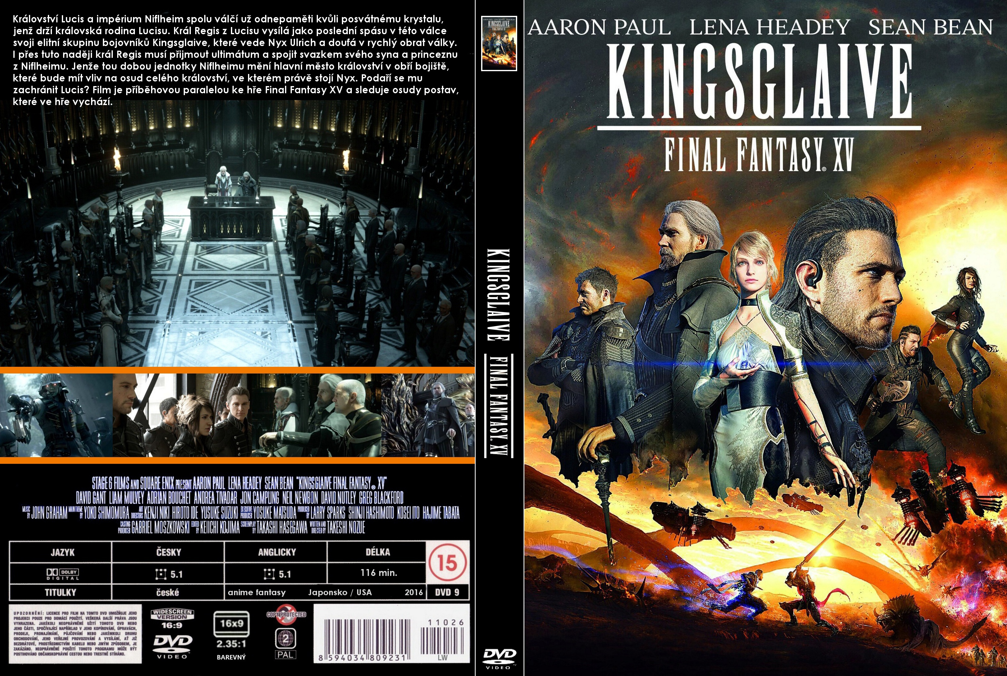 Kingsglaive (2016) cover
