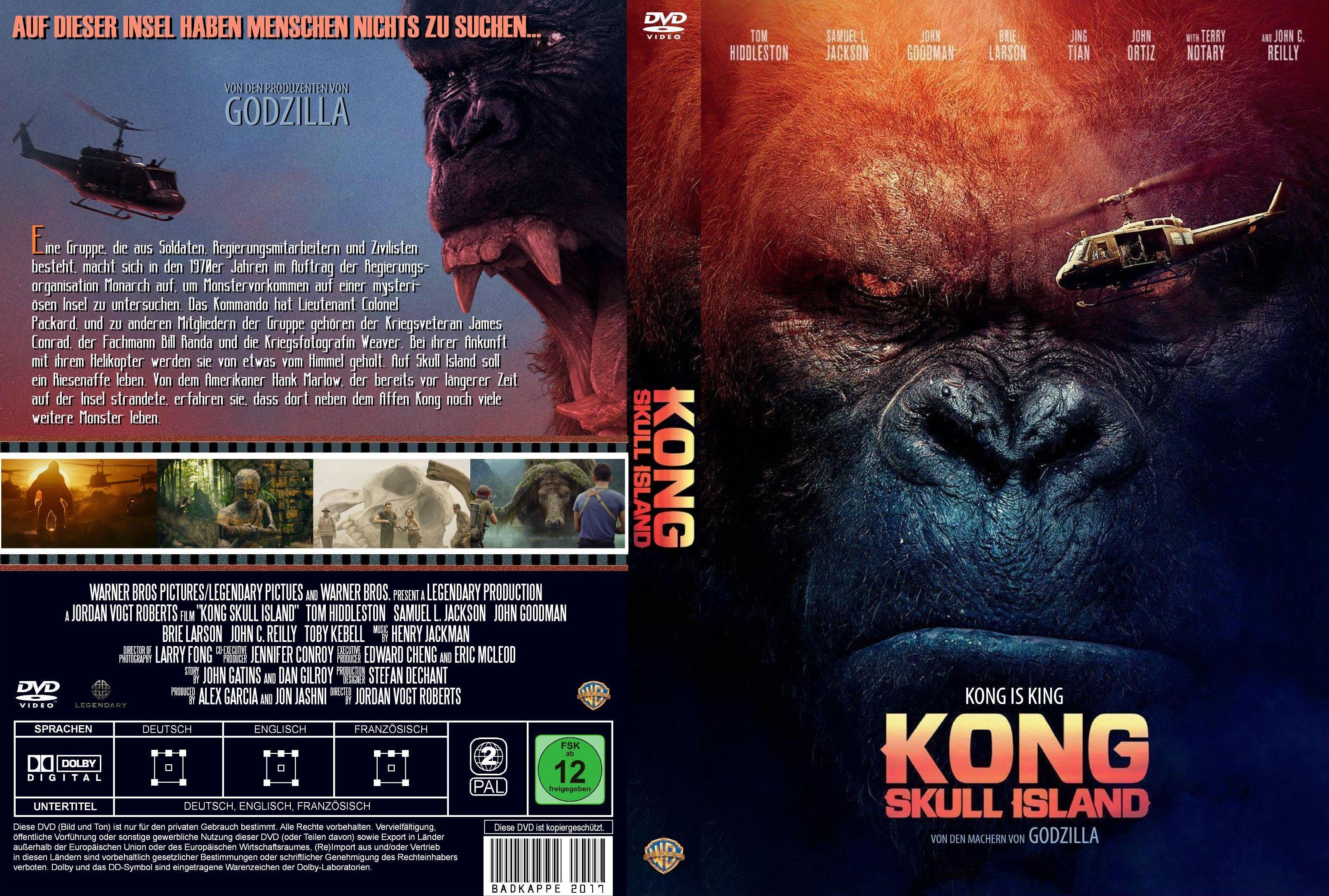 Kong Skull Island (2017) cover