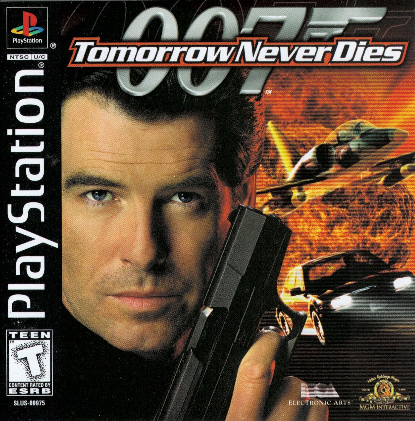 007 Tomorrow Never Dies (wersja niem.) okładka