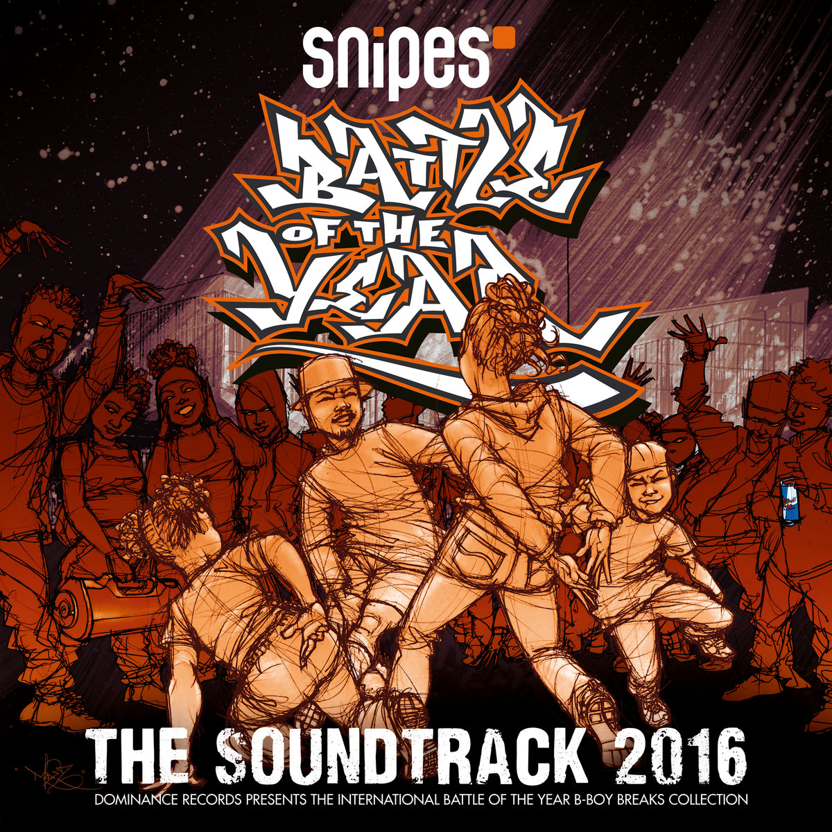 Battle Of The Year 2016 - The Soundtrack (okładka)