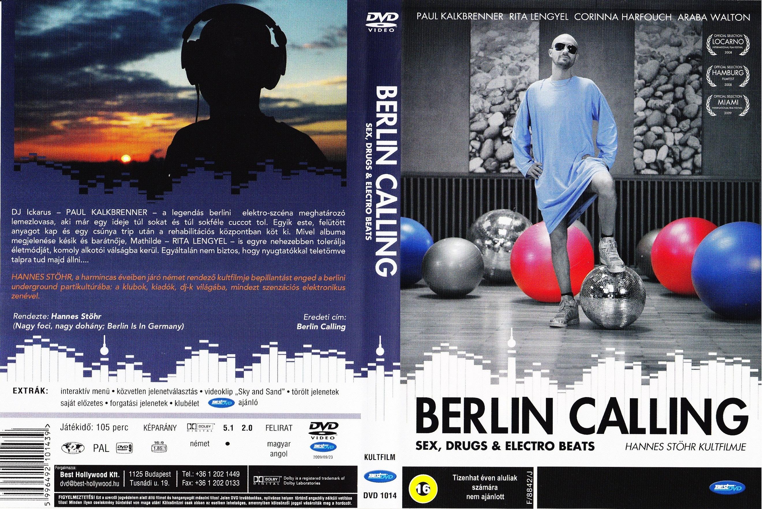 Berlin Calling (2008) okładka