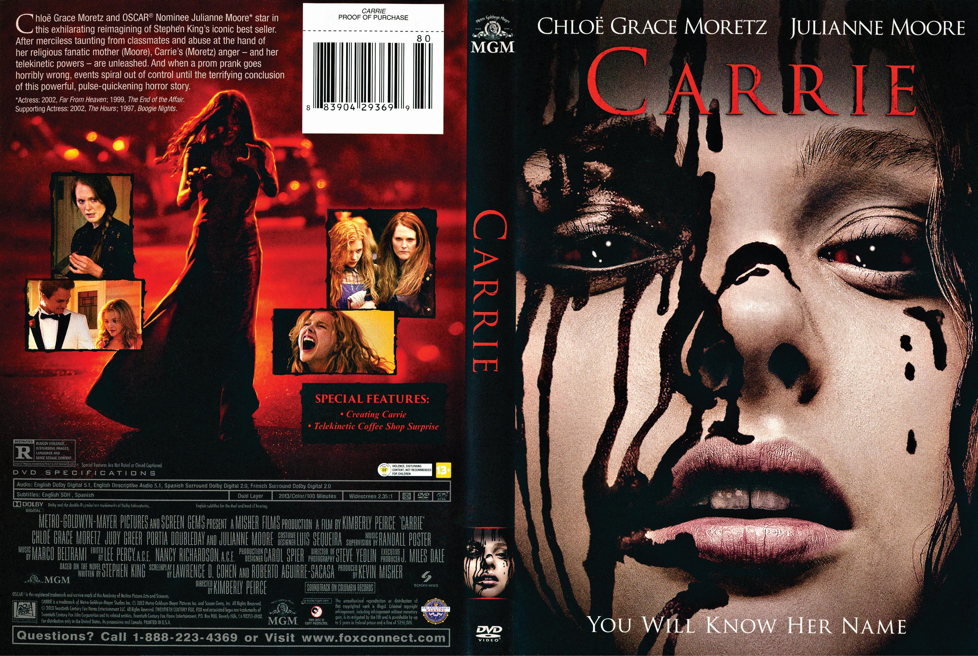 Carrie (2013) okładka
