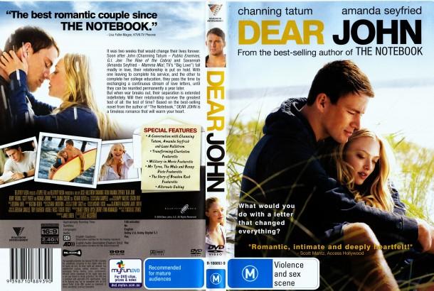 Dear John (2010) okładka