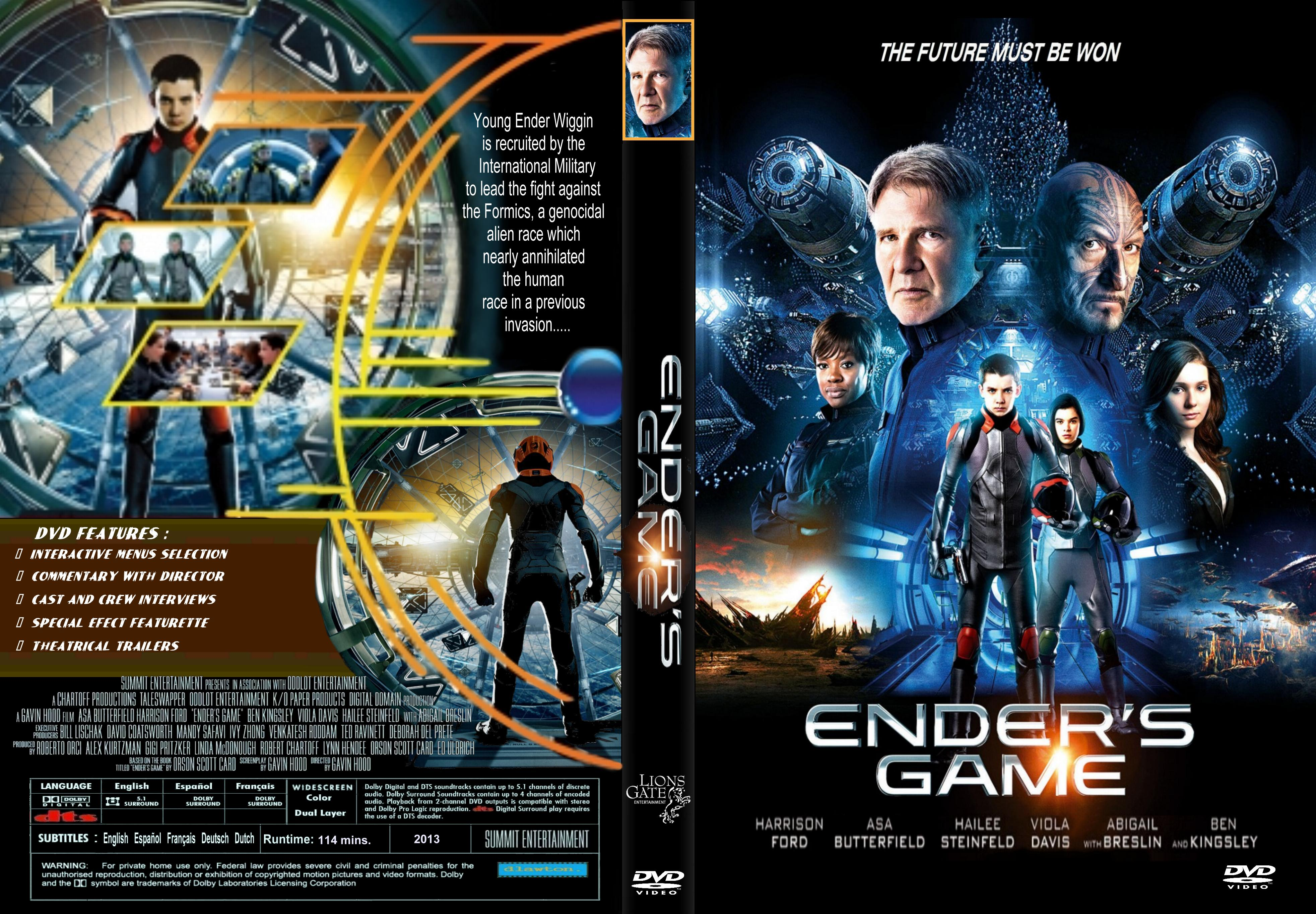 Ender's game (2013) okładka