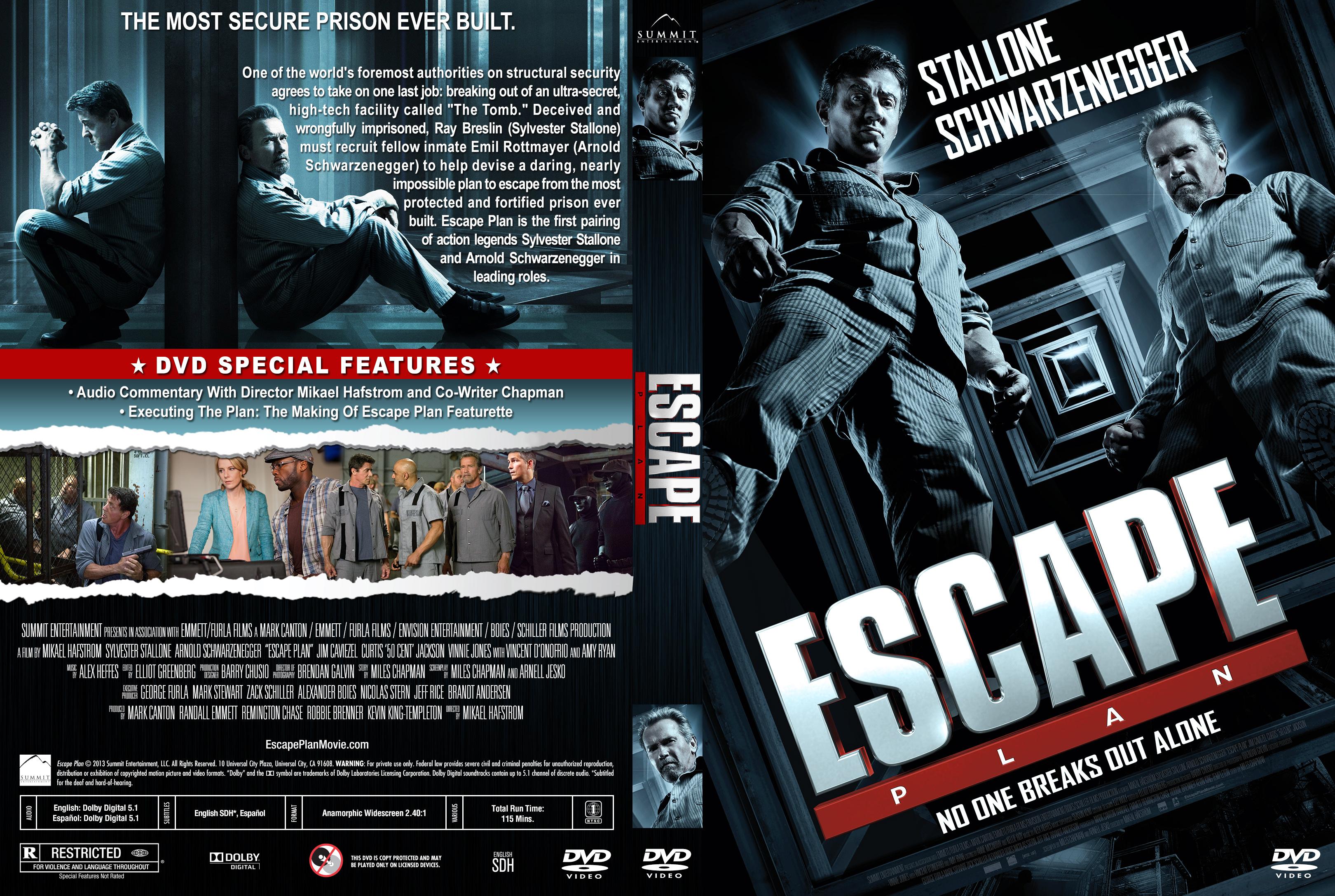 Escape Plan (2013) okładka