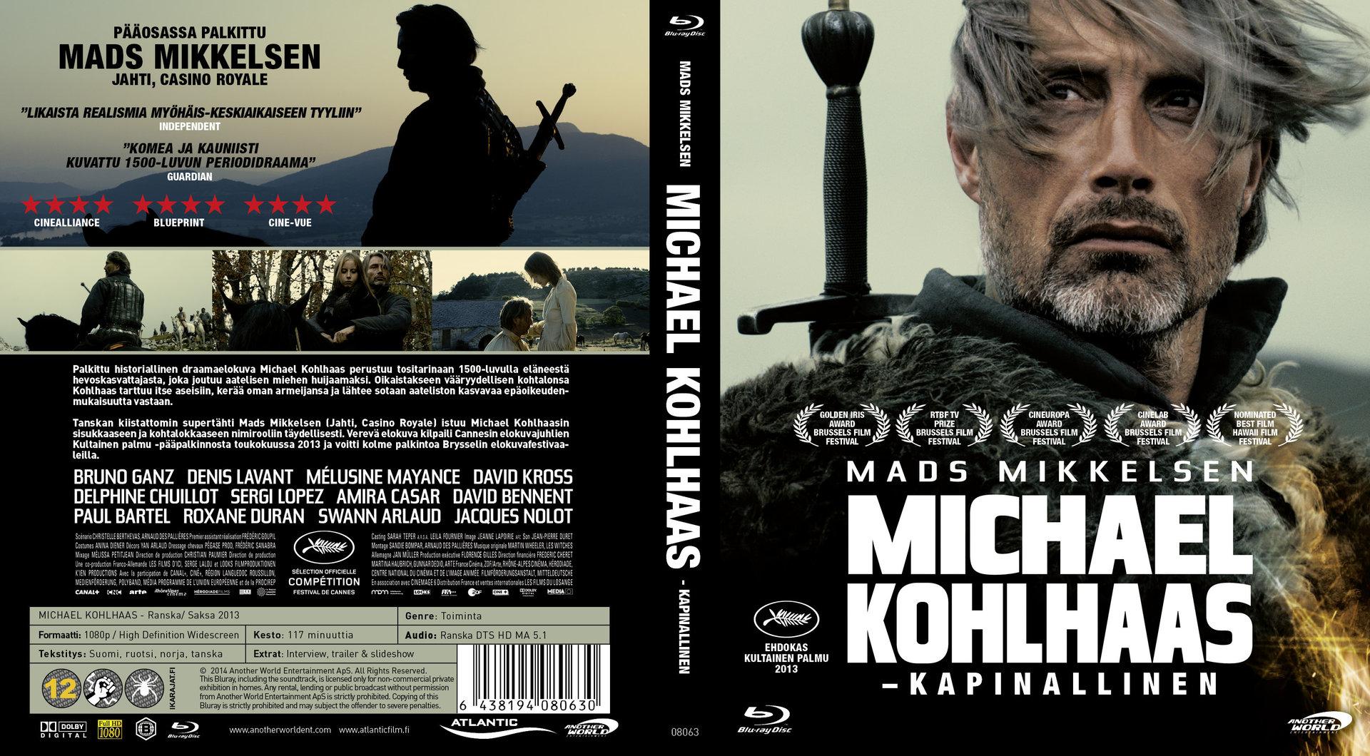 Michael Kohlhaas (2013) okładka
