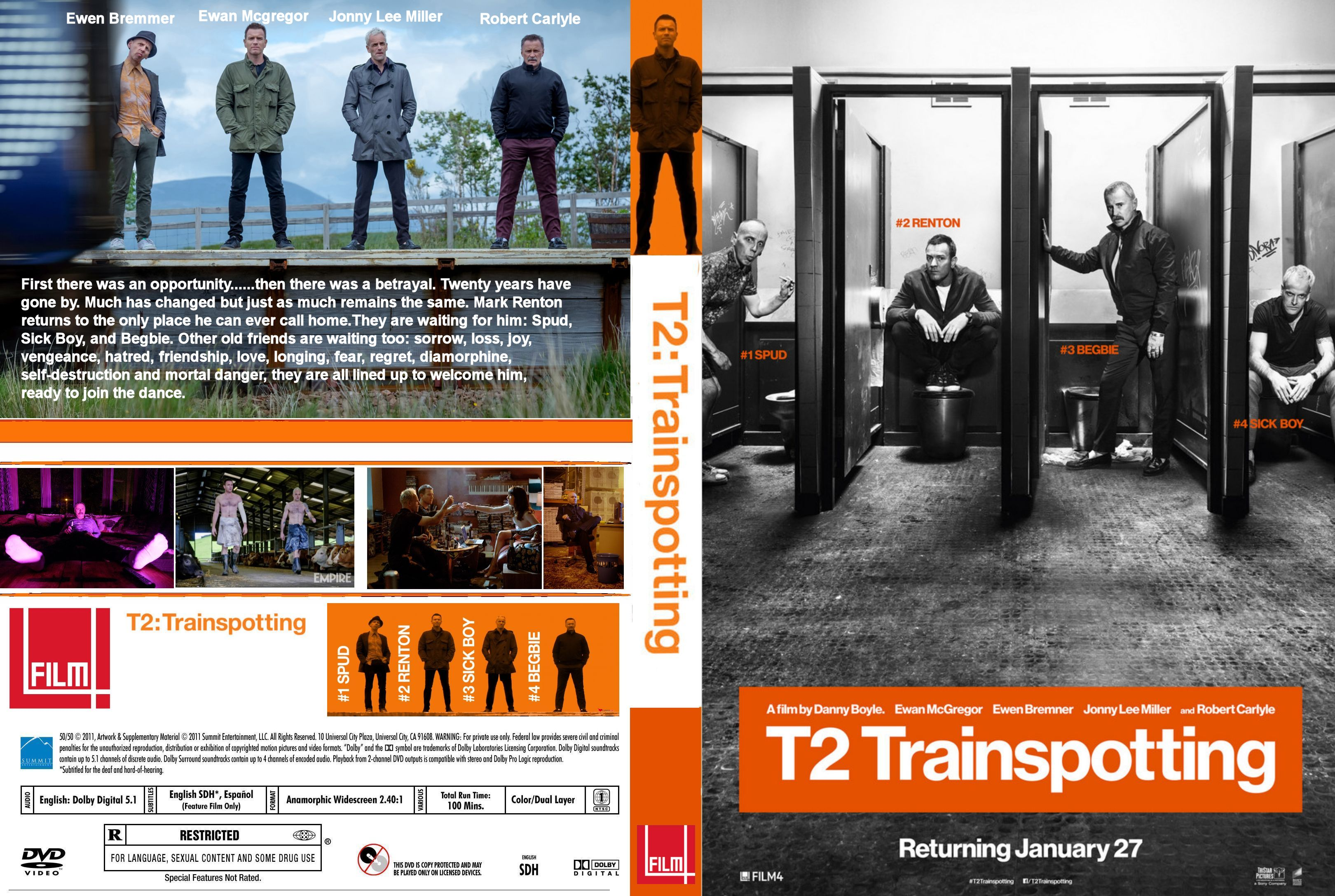 T2 Trainspotting okładka