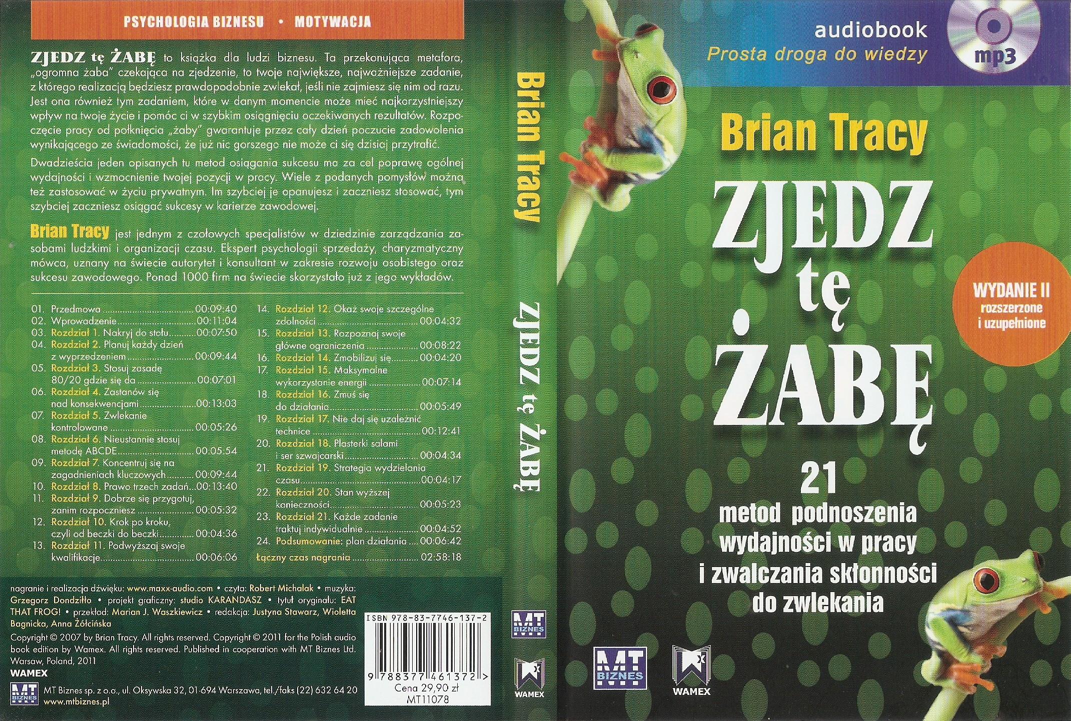 Zjedz tę żabę – Brian Tracy (audiobook)