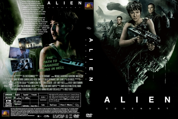 Alien Covenant (2017) cover