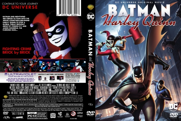 Batman and Harley Quinn (2017) okładka
