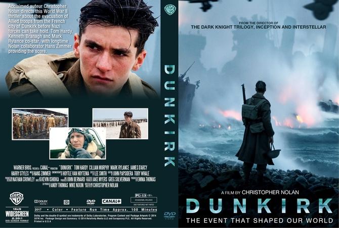 Dunkirk (2017) okładka