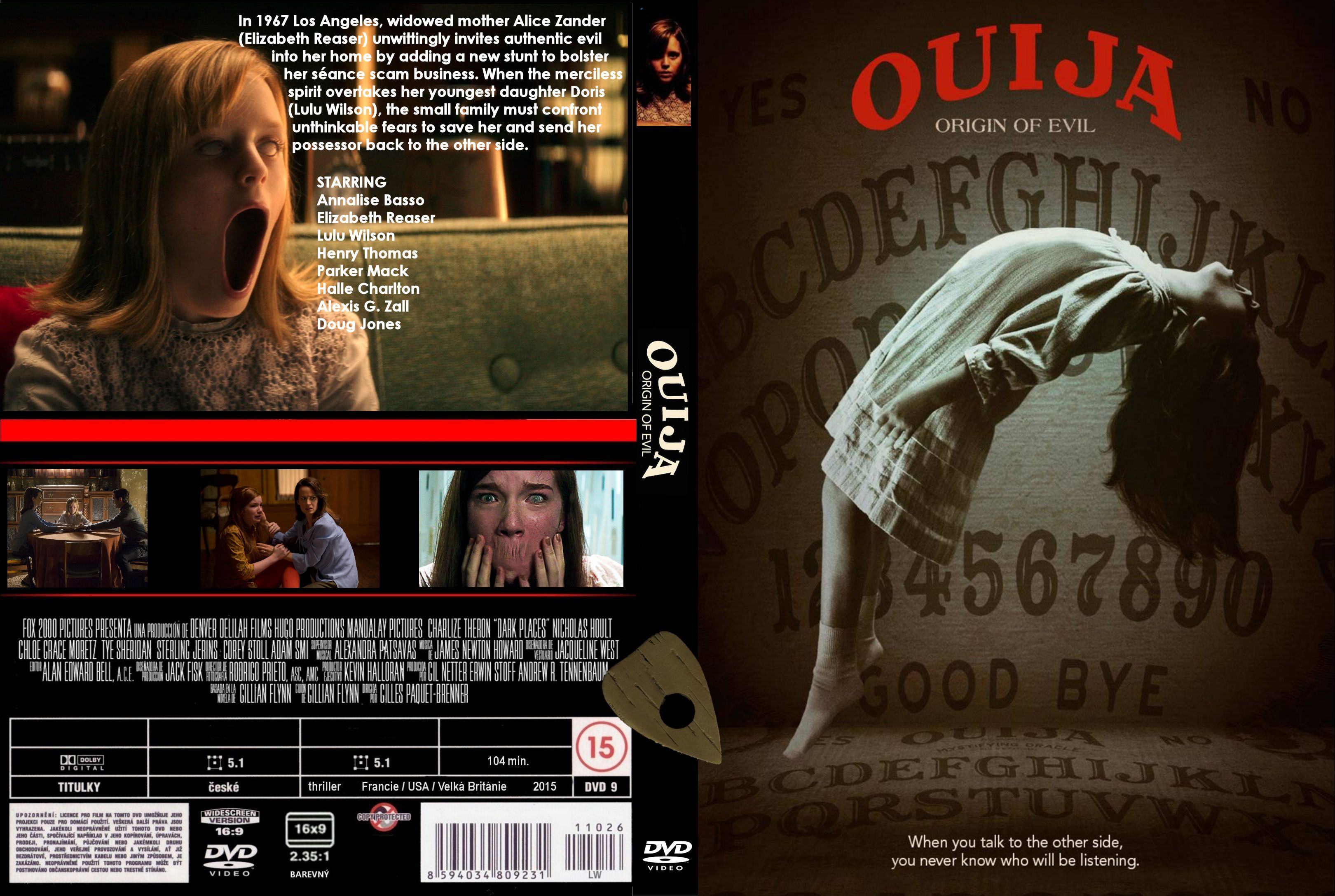 Ouija Origin of Evil (2016) okładka