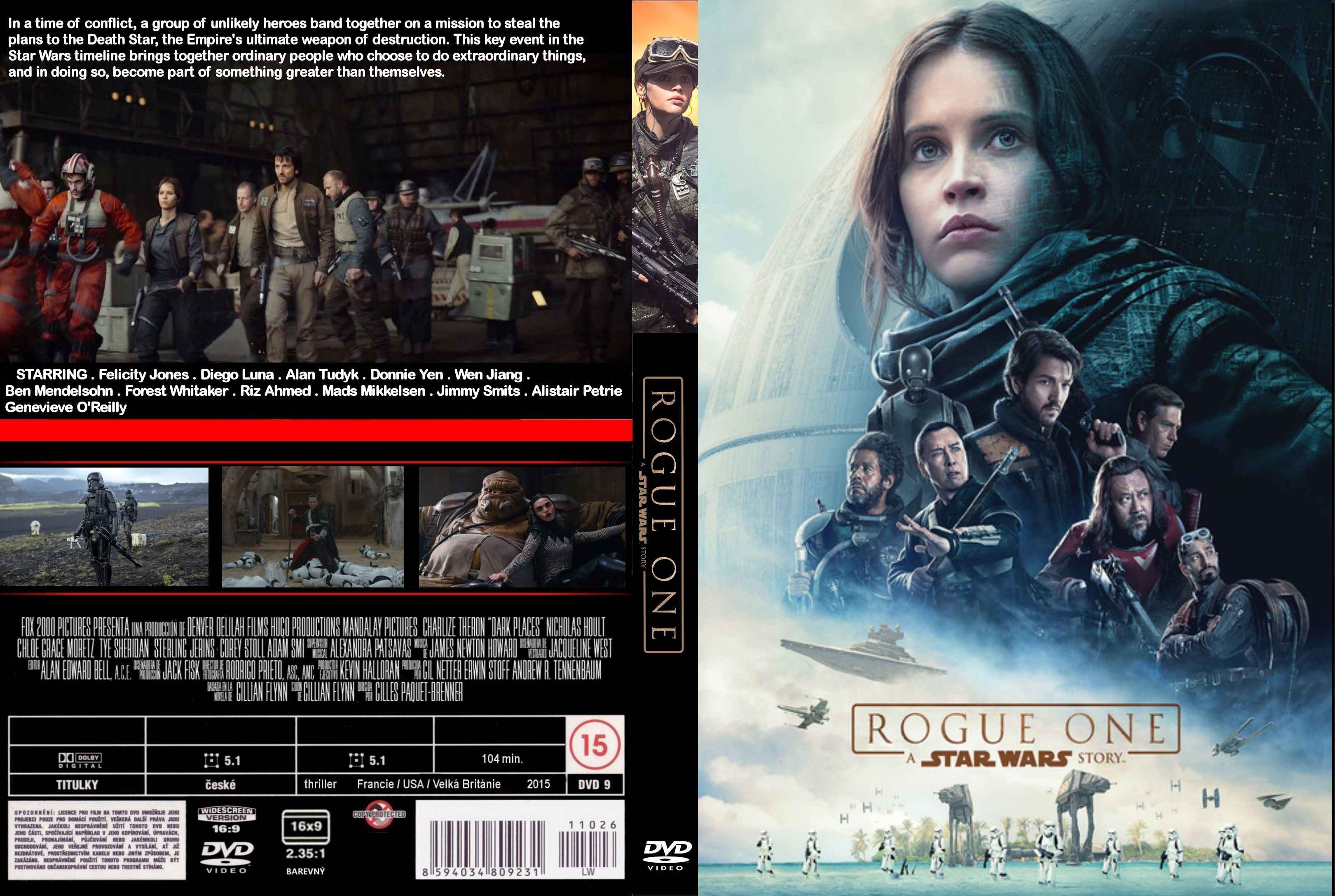Rogue One A Star Wars Story (2016) okładka
