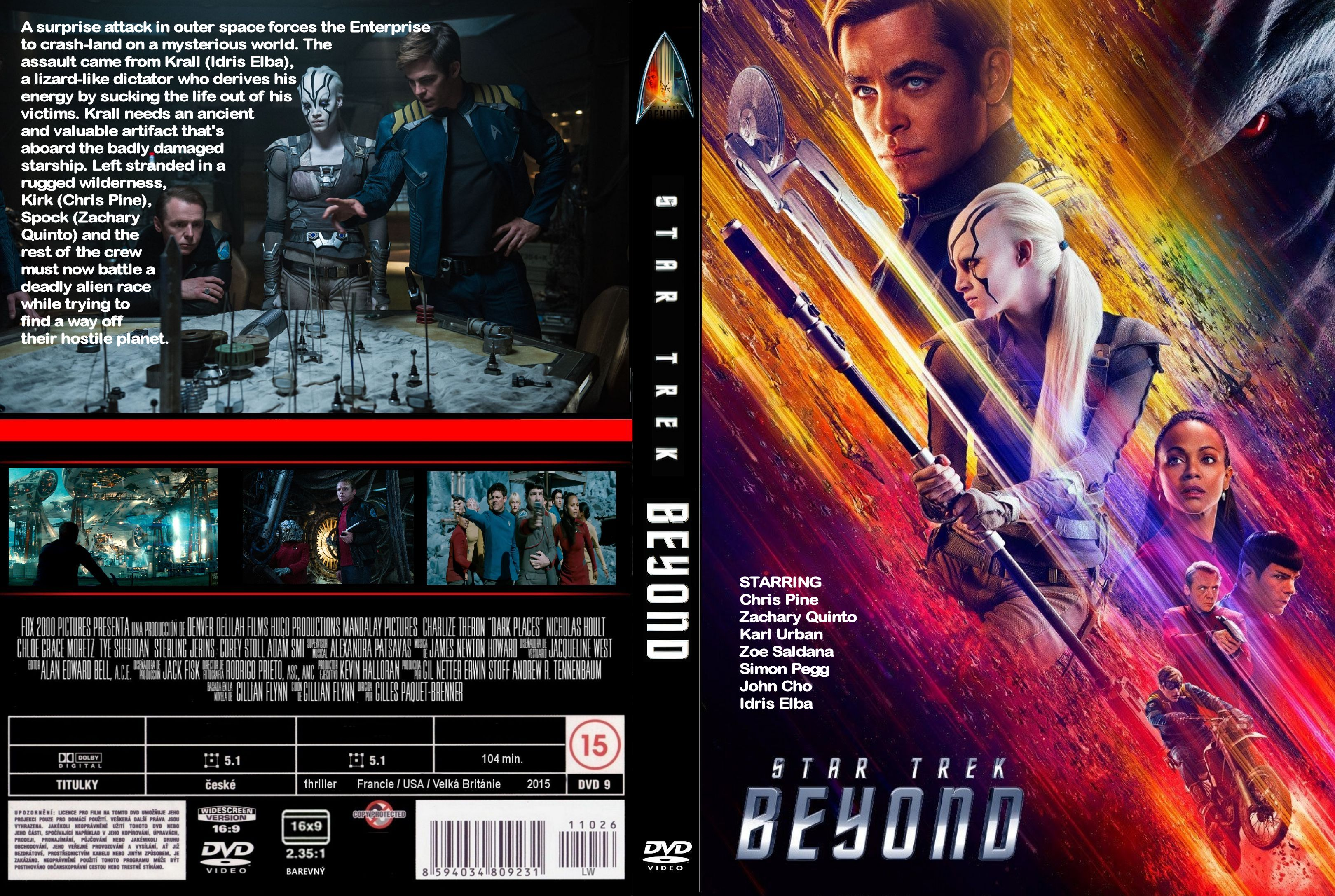 Star Trek Beyond (2016) okładka