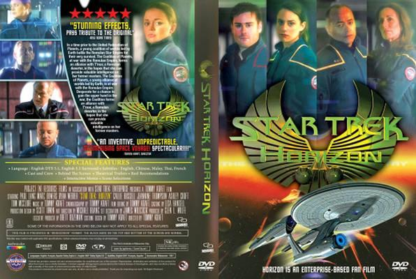 Star Trek Horizon (2016) cover