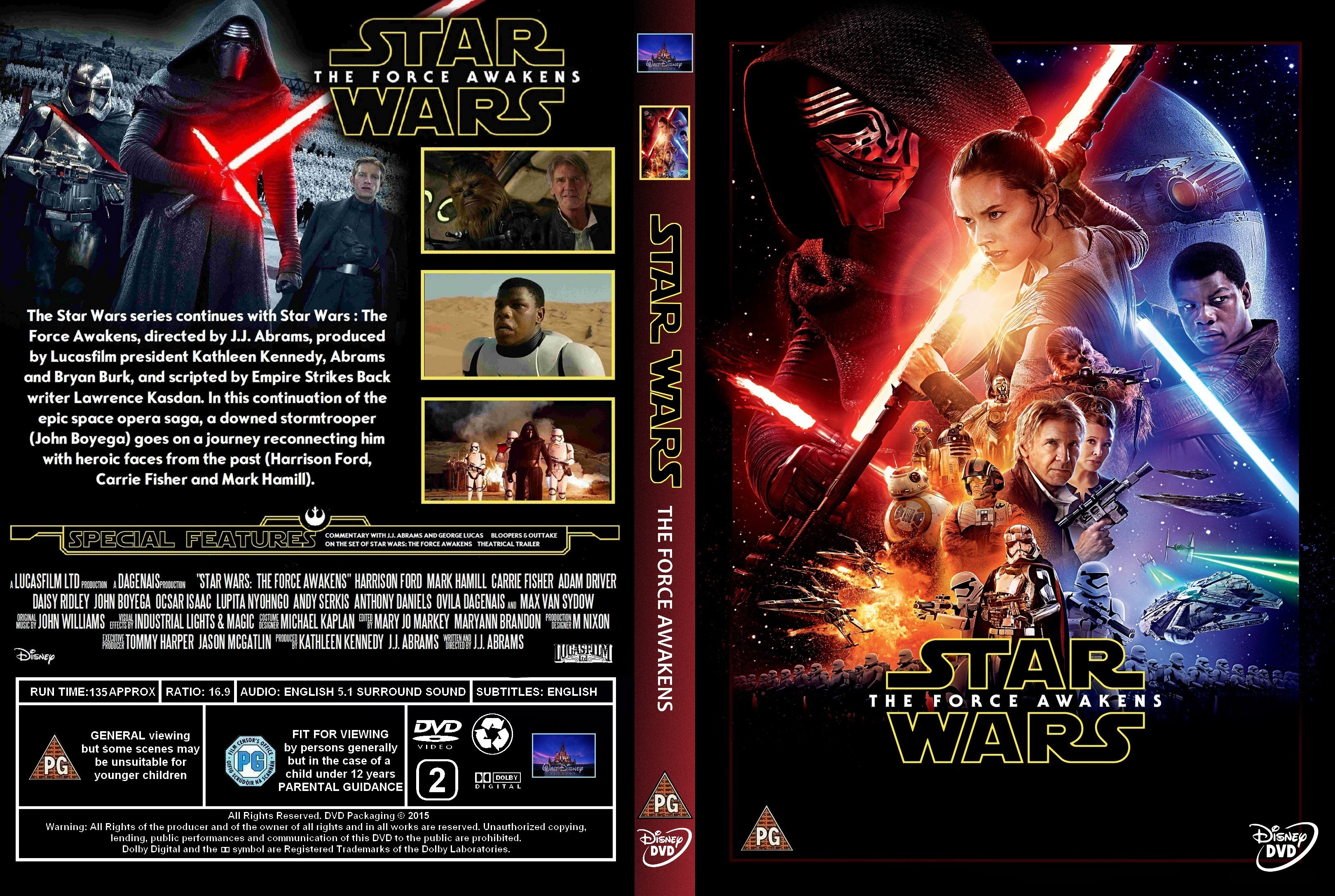 Star Wars: Episode VII The Force Awakens (2015)
