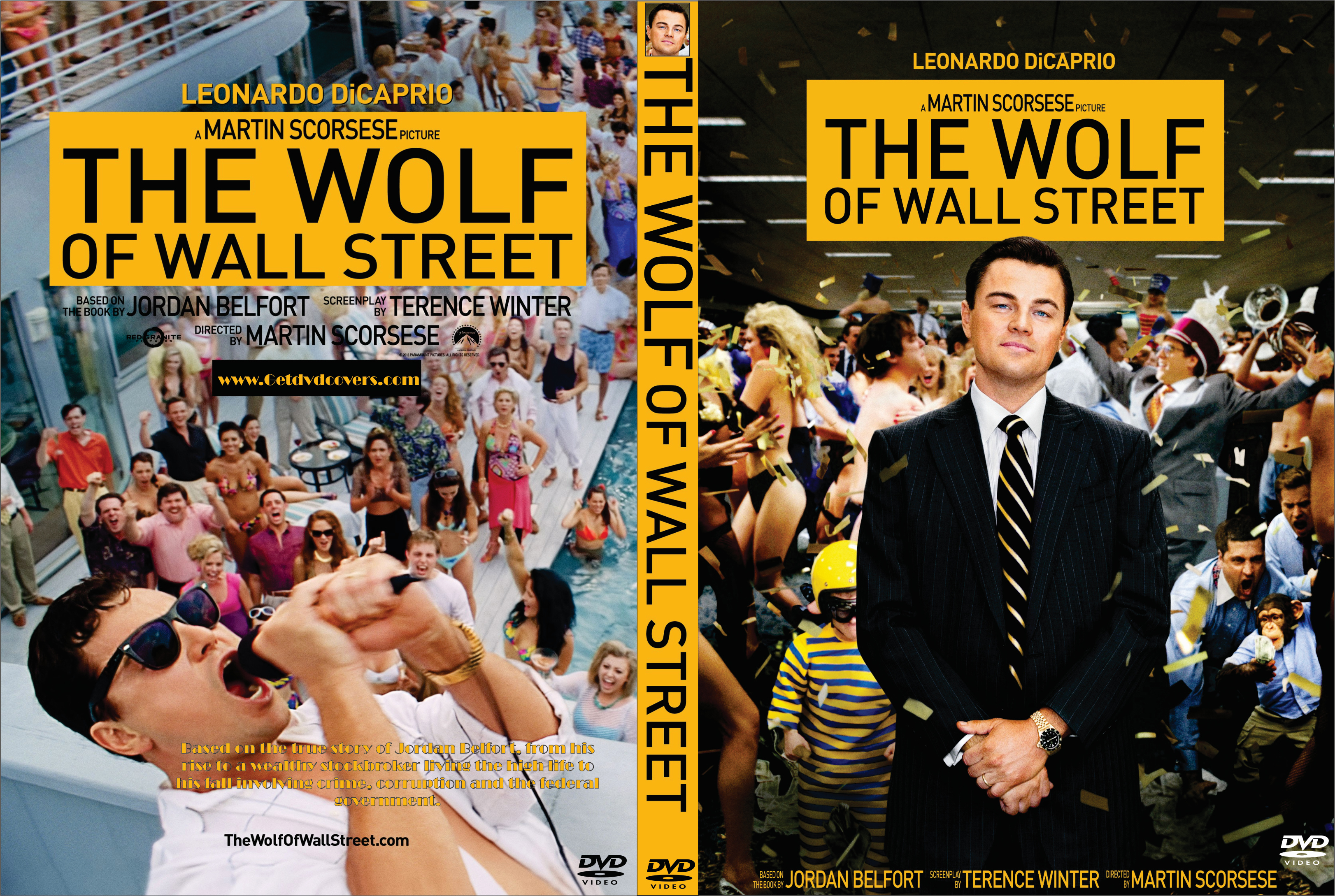 The Wolf of Wall Street (2013) okładka