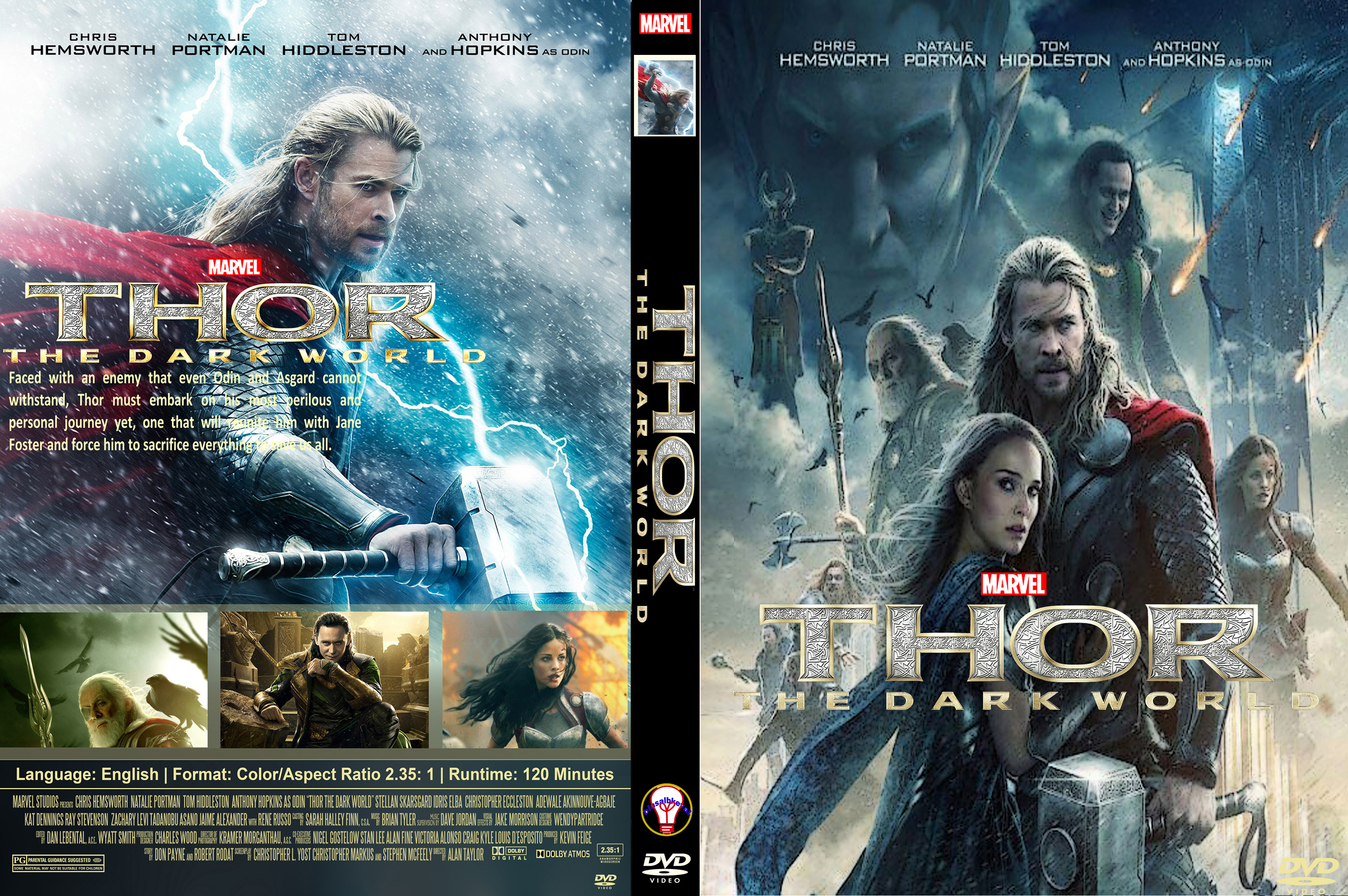 Thor The Dark World (2013) cover