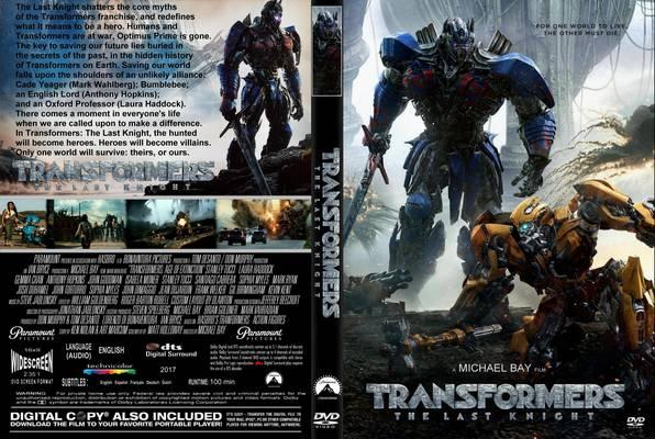 Transformers The Last Knight (2017) cover