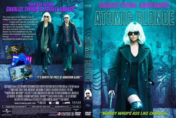 Atomic Blonde (2017) okładka