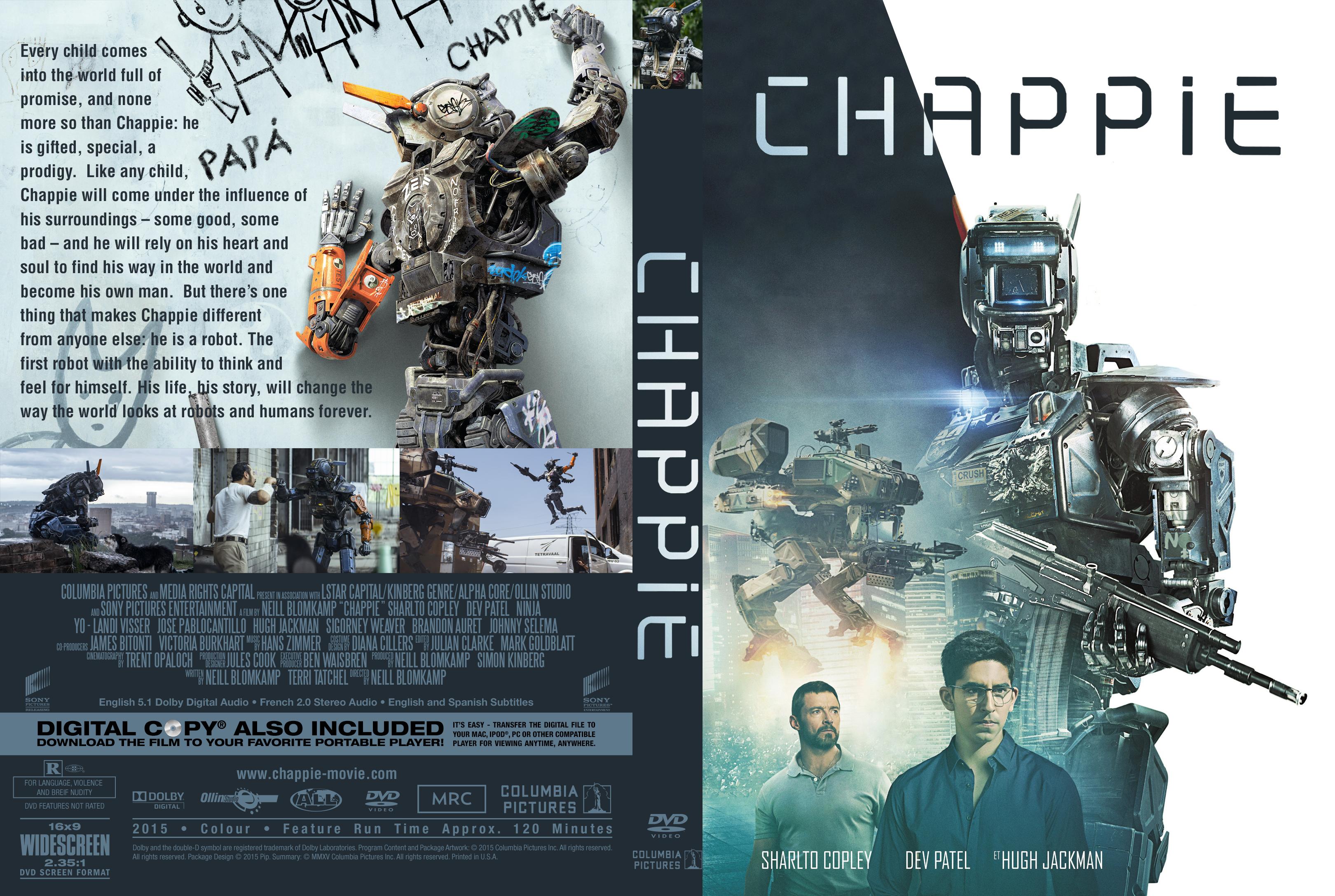 Chappie (2015) okładka