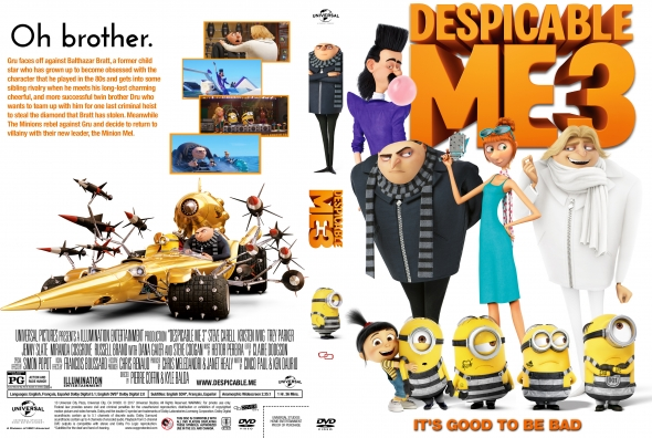 Despicable Me 3 (2017) okładka