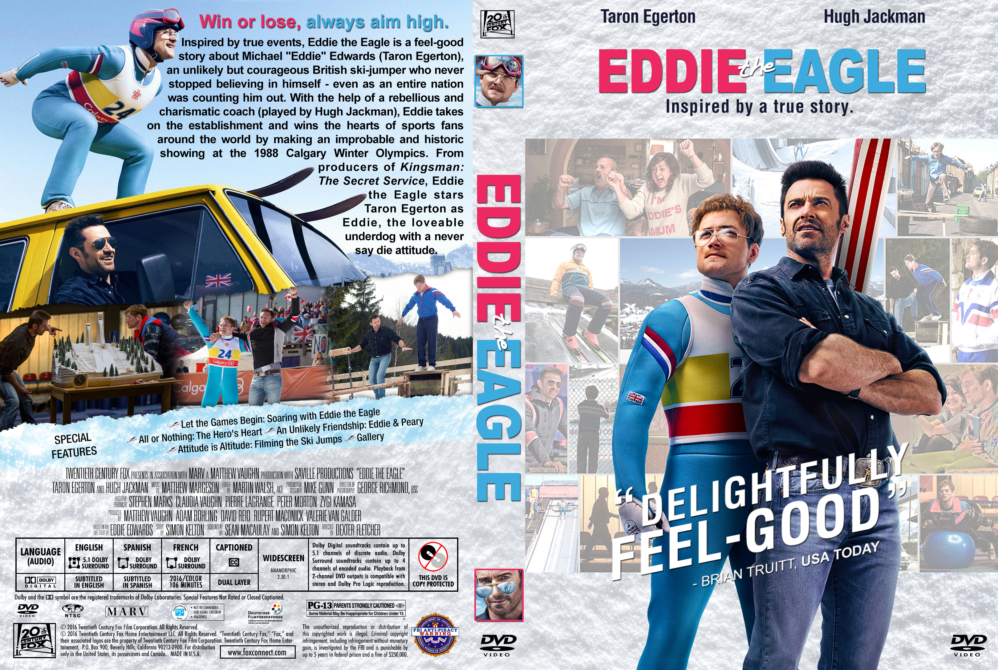 Eddie the Eagle (2016) okładka