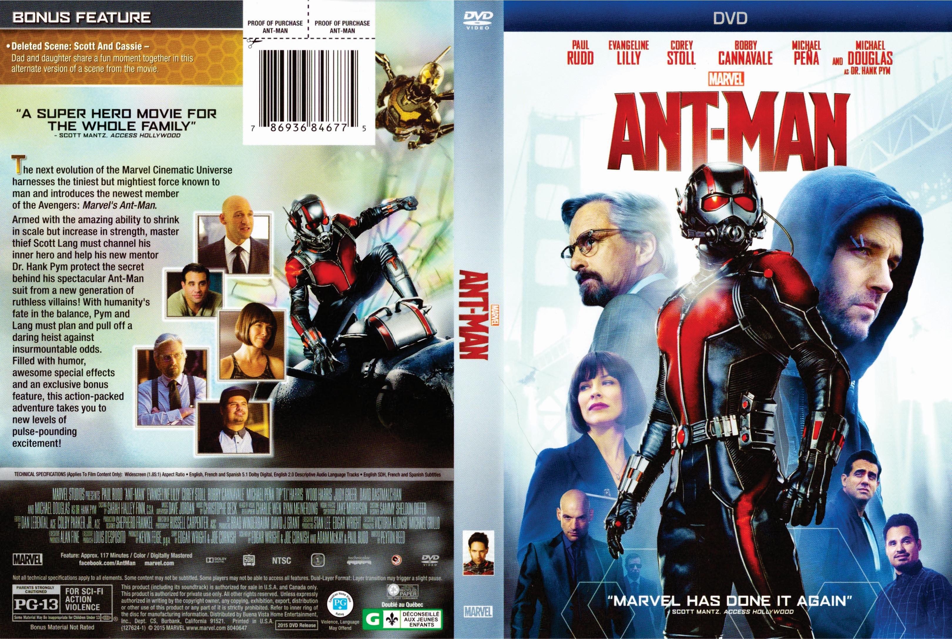Ant-Man (2015) okładka