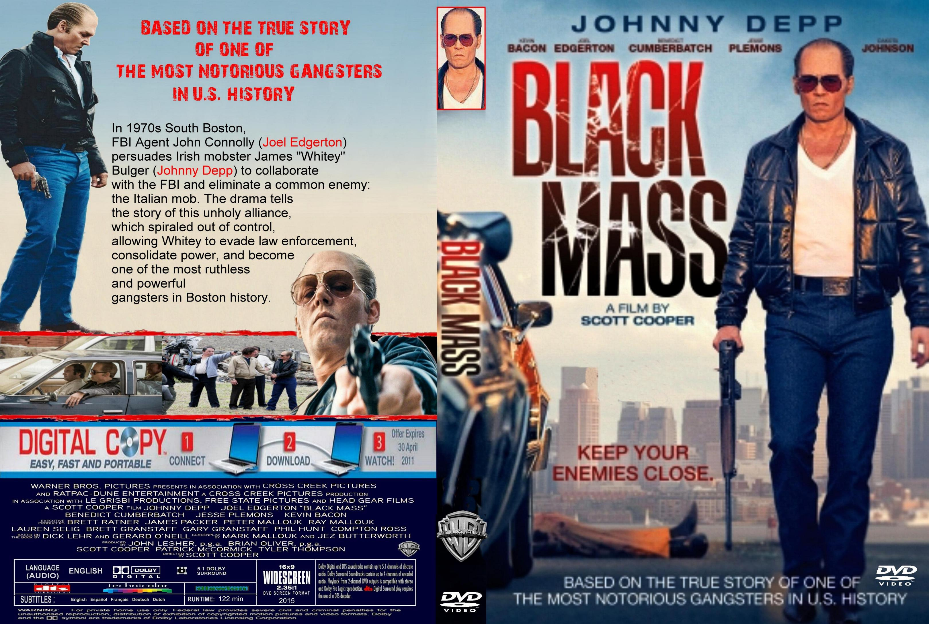 Black Mass (2015) okładka
