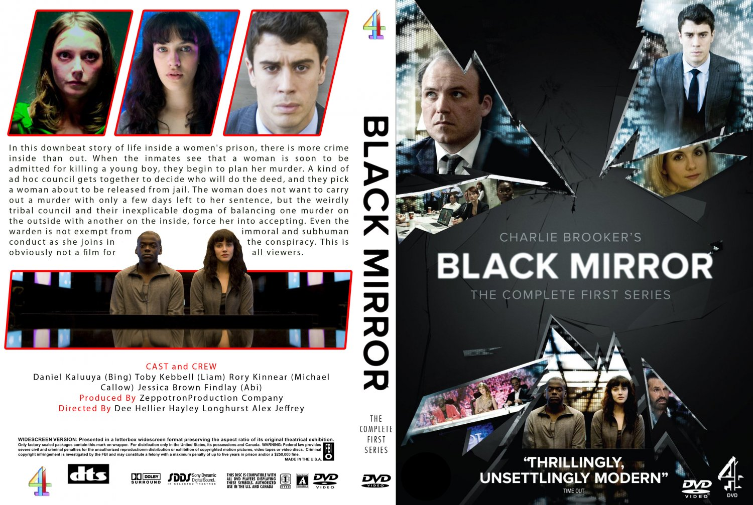 Black Mirror Season 1 (2011) okładka
