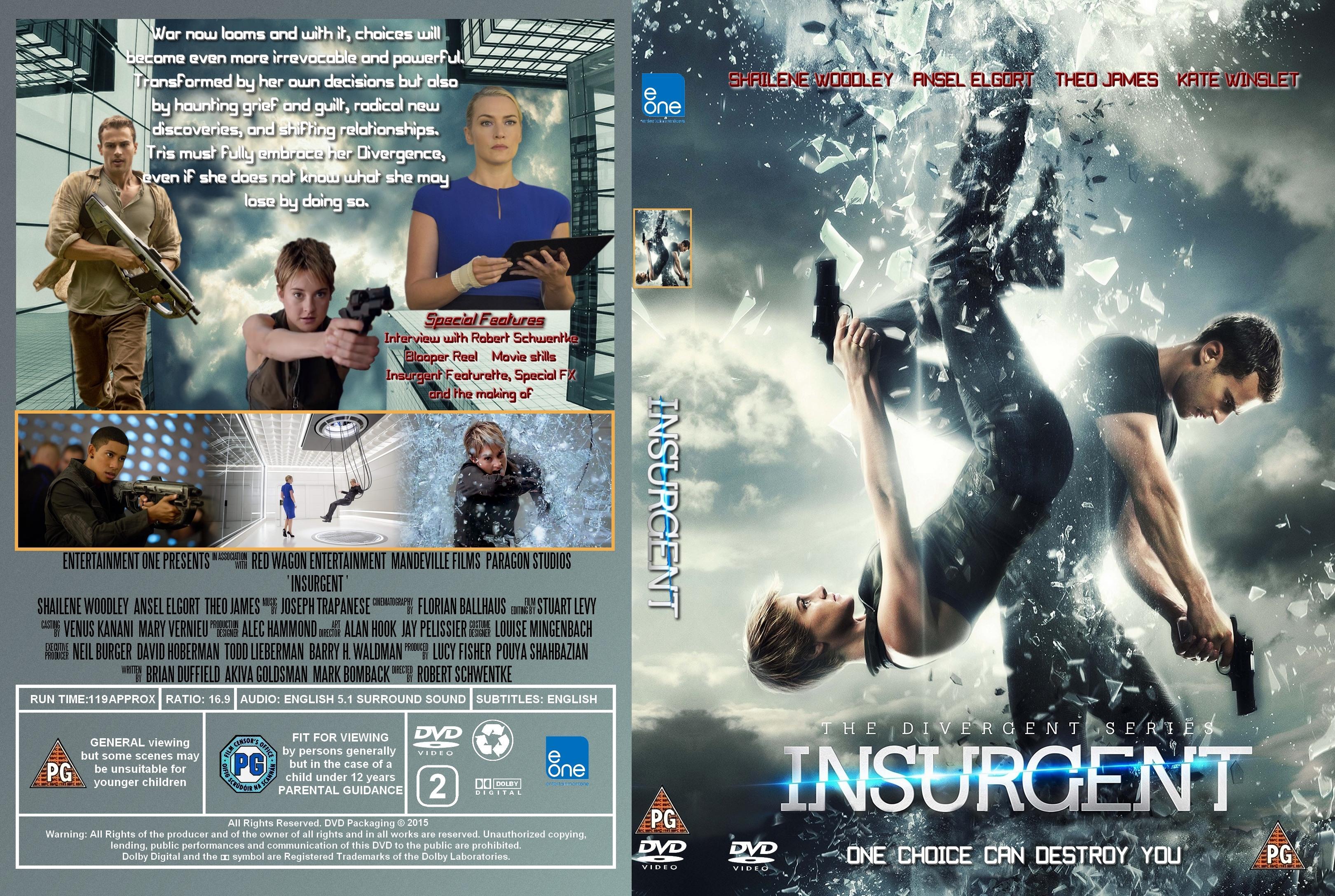 Insurgent (2015) okładka