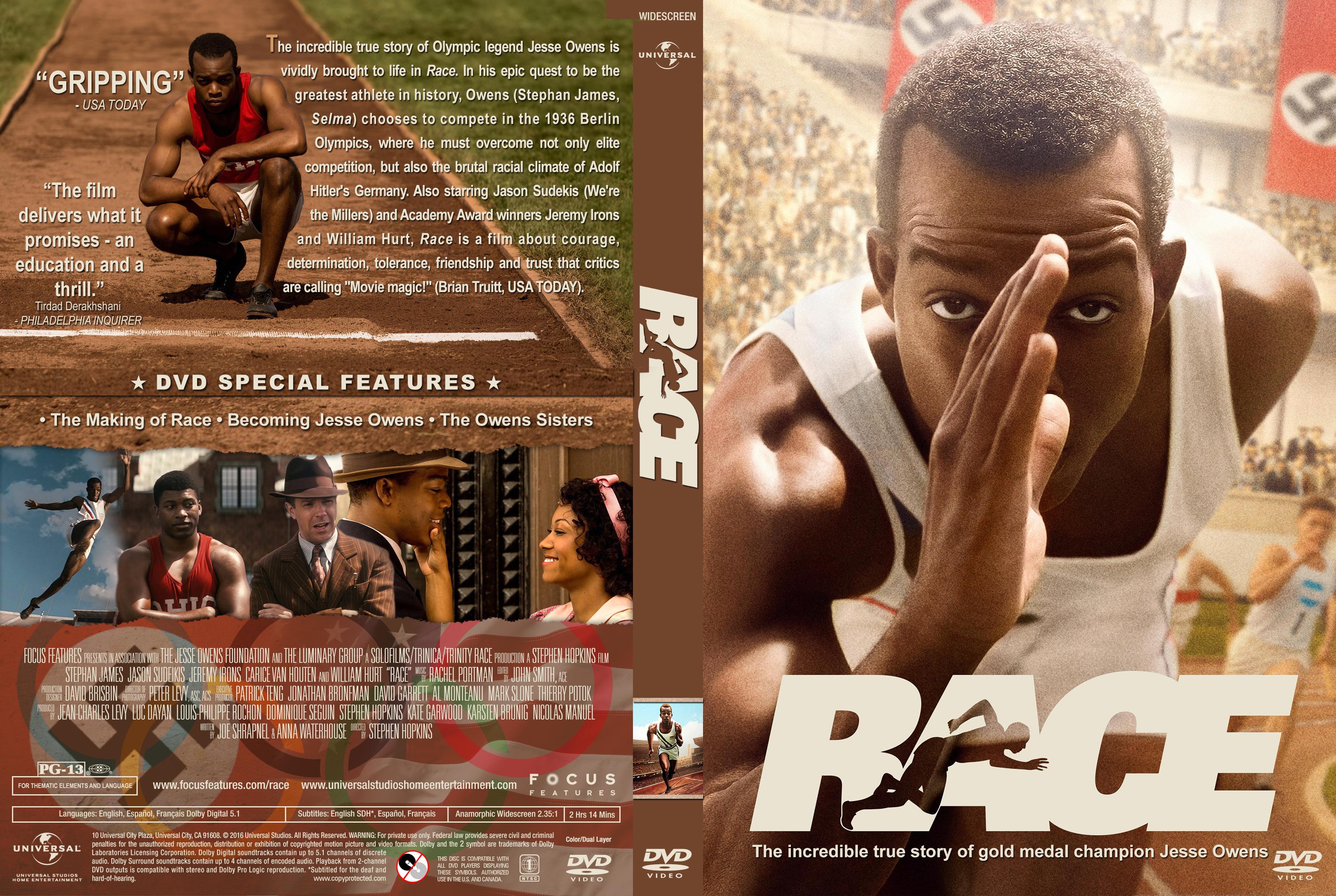 Race (2016) okładka