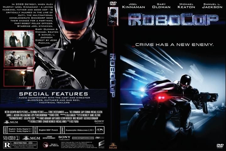 RoboCop (2014) okładka