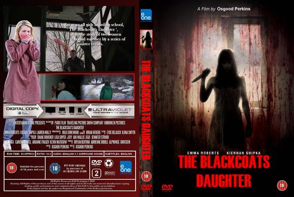 The Blackcoat's Daughter (2015) okładka