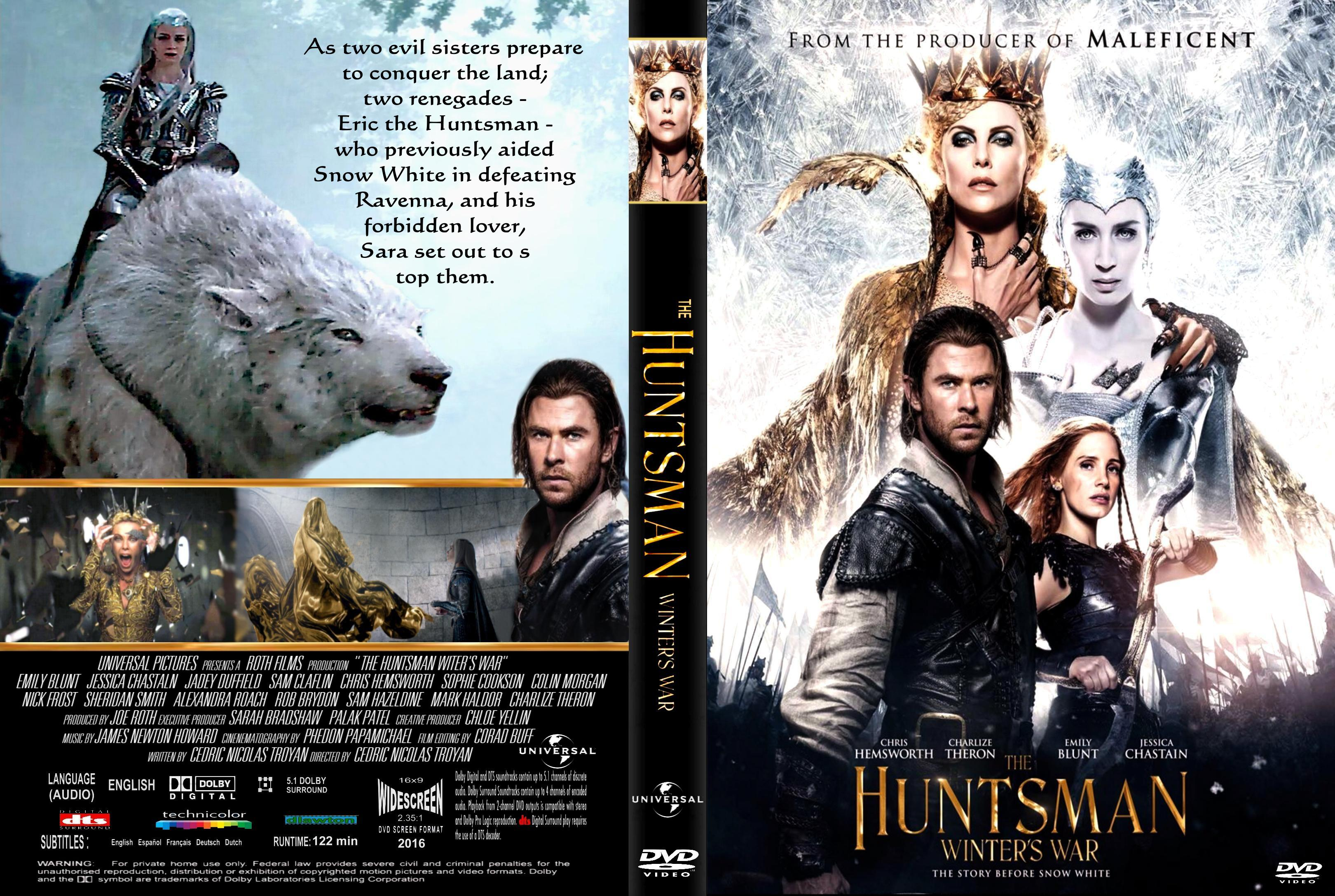 The Huntsman Winter's War (2016) okładka