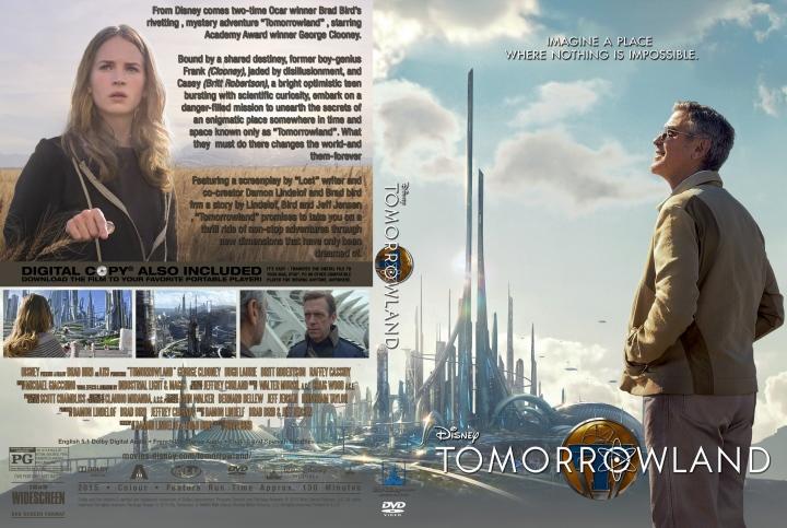 Tomorrowland (2015) okładka