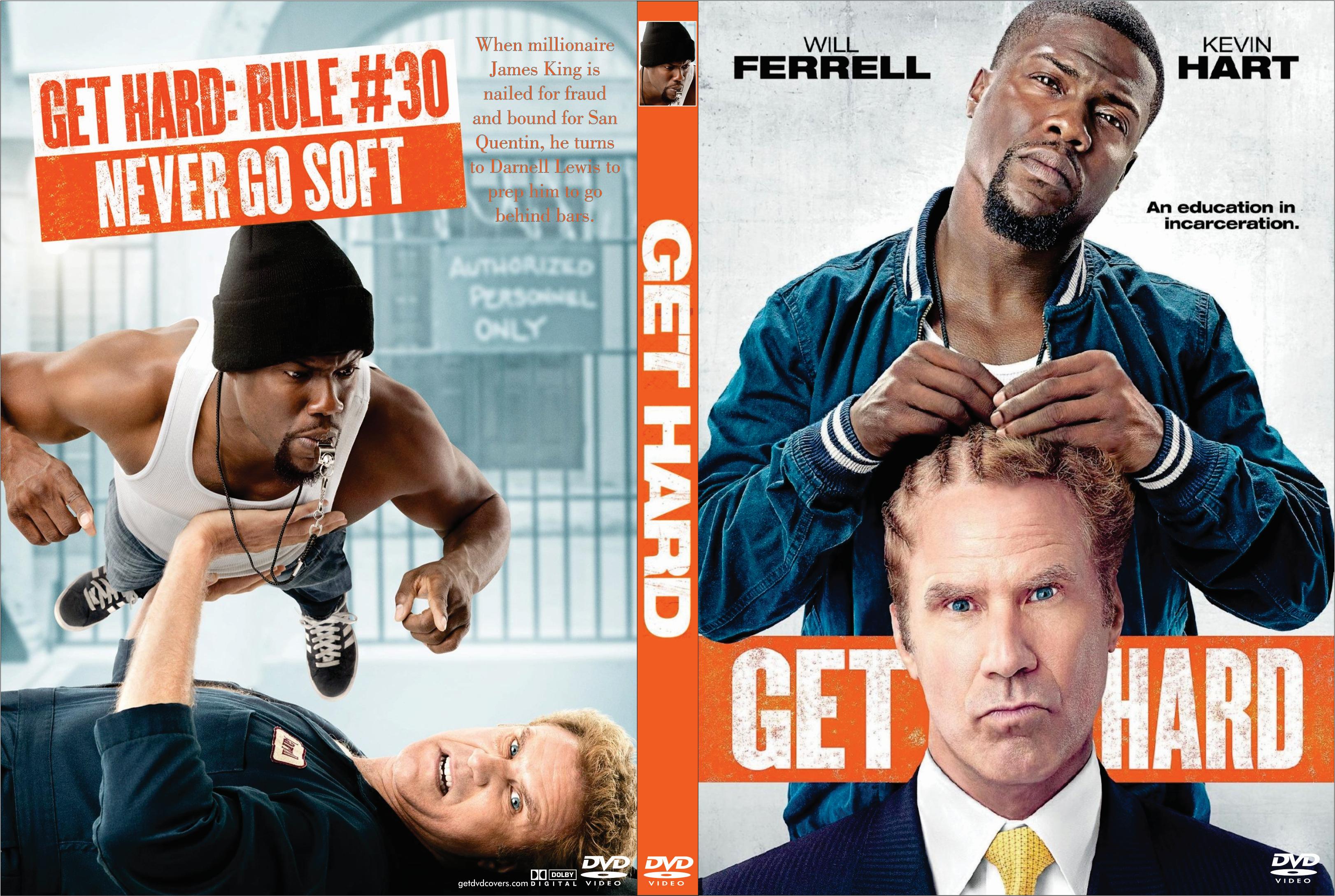 Get Hard (2015) okładka