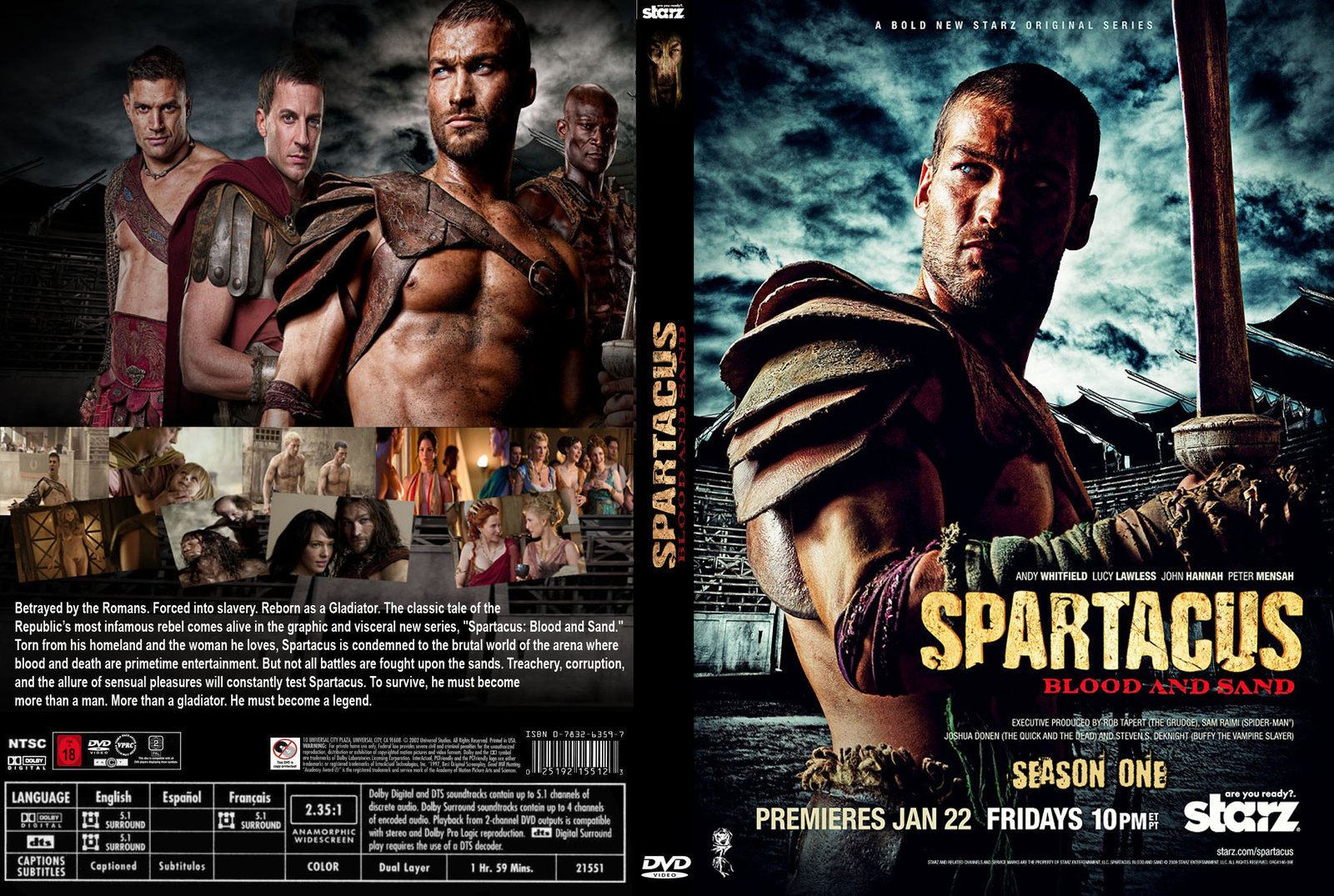 Spartacus S01E11 – Old Wounds (lektor PL)