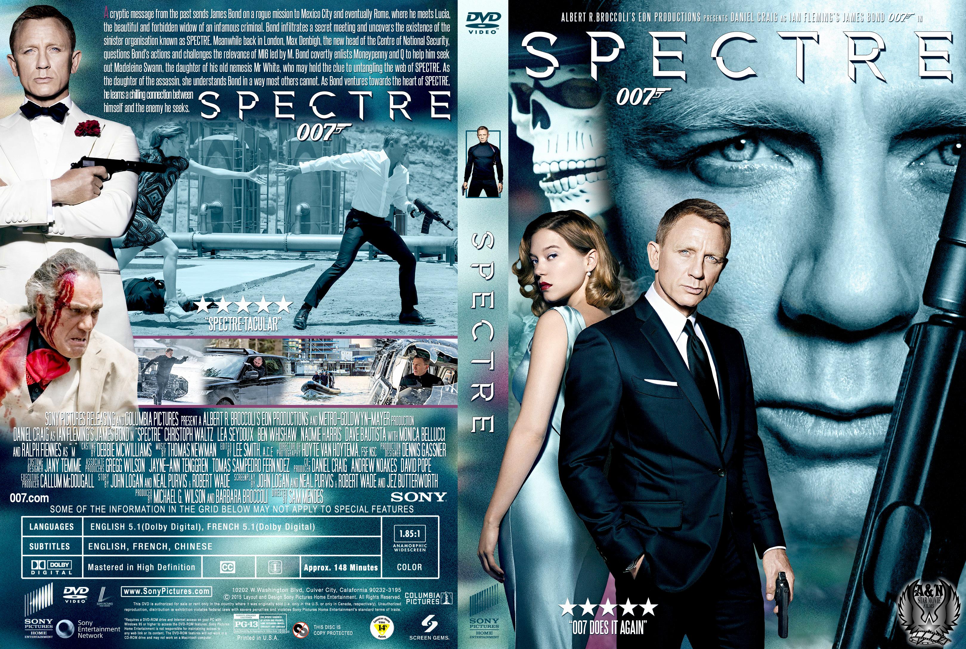 Spectre (2015) okładka