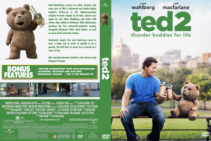Ted 2 (2015) okładka