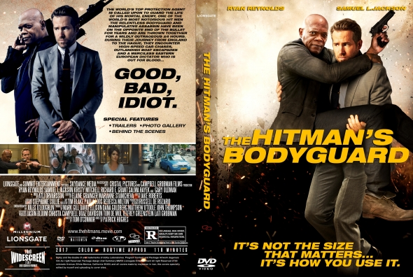 The Hitman's Bodyguard (2017) okładka
