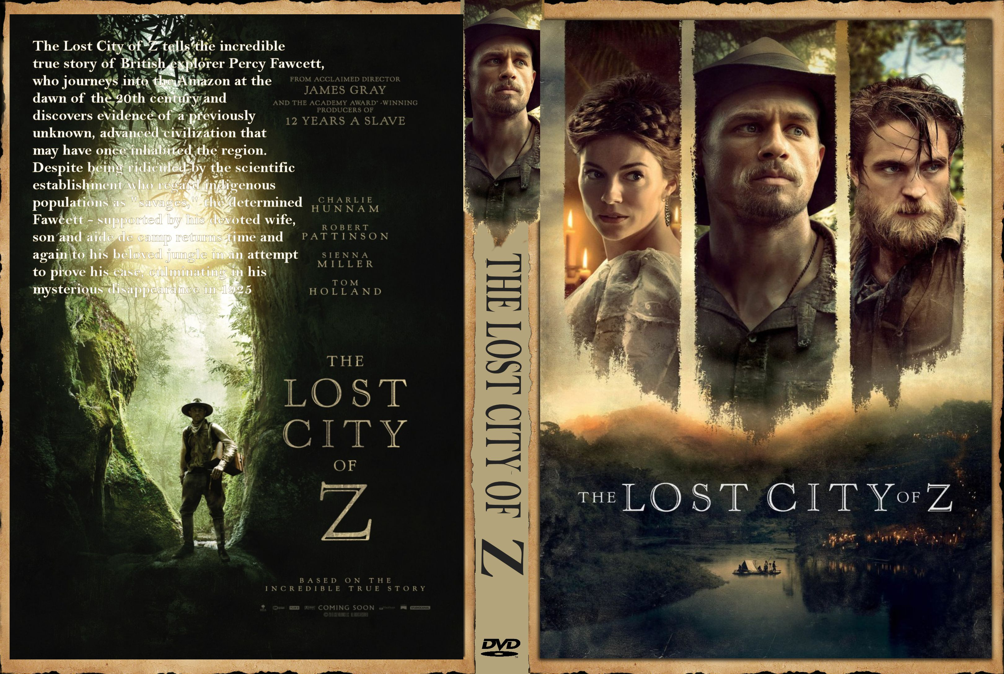 The Lost of City Z (2016) okładka