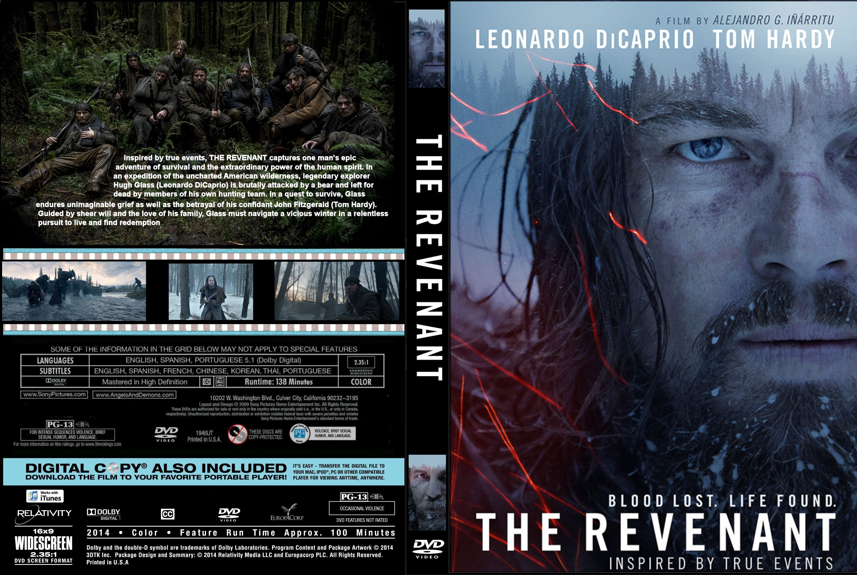 The Revenant (2015) okładka