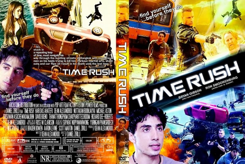 Time Rush (2016) okładka