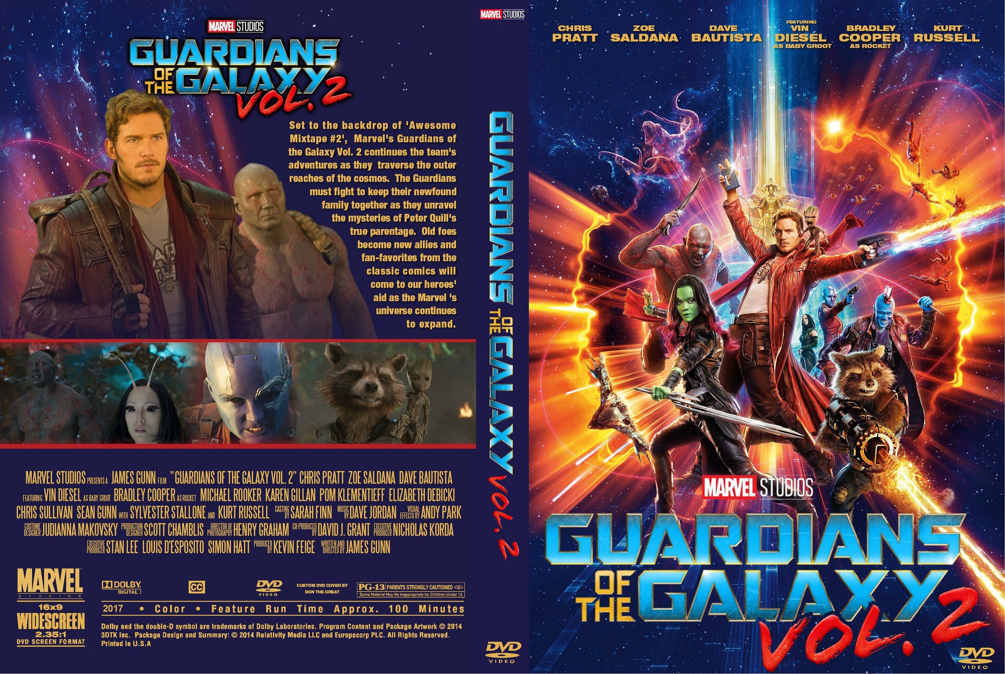 Guardians of the Galaxy (2016) okładka