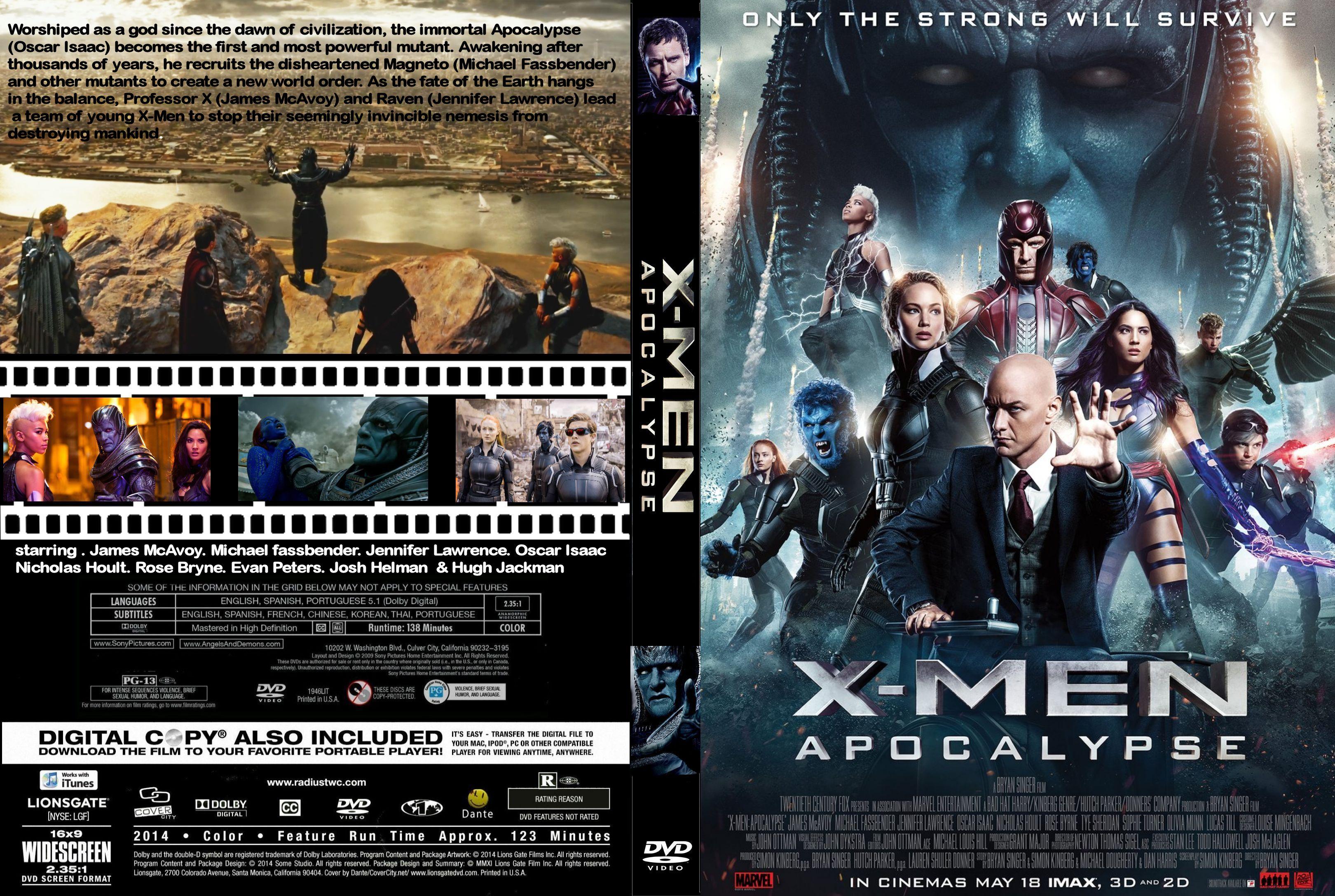 X-Men Apocalypse (2016) okładka