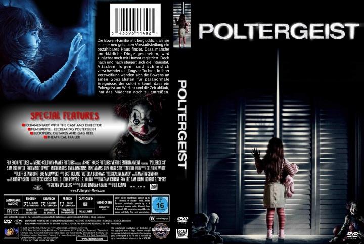 Poltergeist (2015) okładka
